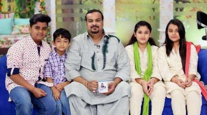 وزیر اعلی سندھ نے امجد صابری کے اہل خانہ کو مالی امداد دینے کی منظوری ..