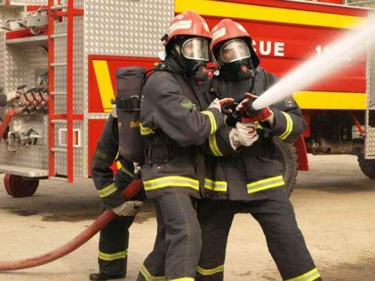 لبرٹی کے قریب بنک میں آگ لگ گئی ، امدادی ٹیمیں روانہ