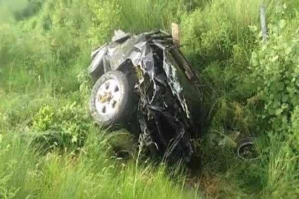 اسلام آباد میں کسٹمز انٹیلی جنس کی گاڑی کھائی میں گرنے سے 4 اہلکار جاں ..