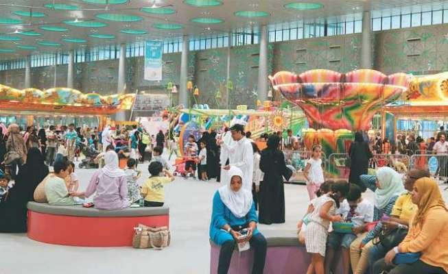 دوحا: 2016کے پہلے چھ ماہ میں قطر آنے والے سیاحوں کی تعداد 1.4ملین رہی: کیو ..