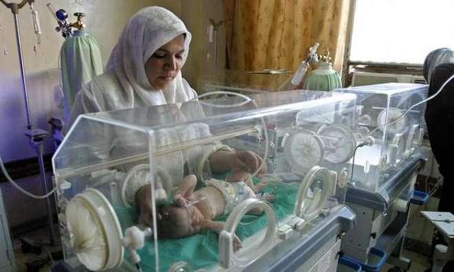 عراق کے سب سے بڑے میٹرنٹی ہسپتال میں آگ لگنے سے 11 نوزائیدہ بچے ہلاک ..