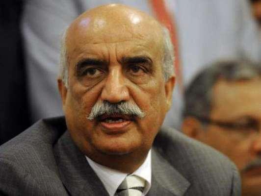 سید خورشید شاہ کی حکومت کو دہشتگردی کیخلاف پارلیمانی ایکشن کمیٹی بنانے ..
