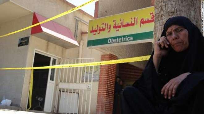 عراق:بغداد میں خودکش دھماکہ،2 فوجی ہلاک جبکہ9 زخمی ہوگئے۔عرب ٹی وی