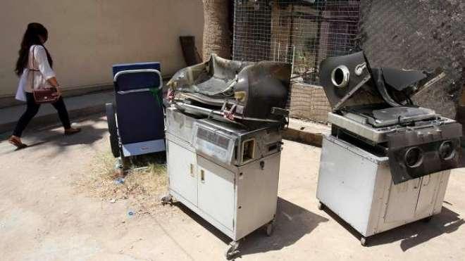 عراق ، میٹرنٹی ہسپتال میں آگ لگنے کے باعث 11 نوزائیدہ بچے جاں بحق