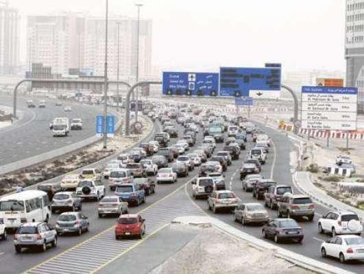 شارجہ: شارجہ سے دبئی جانے کے لیئے نئی سڑک عام ٹریفک کے لیئے کھول دی گئی