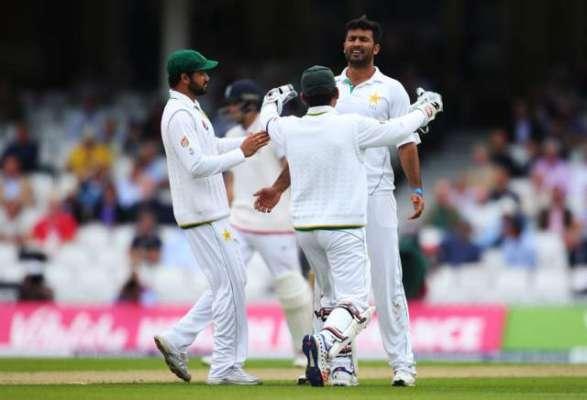 اوول ٹیسٹ ، انگلینڈ کی بساط328 رنز پر سمٹ گئی ،پاکستان کے ایک وکٹ پر 3رن