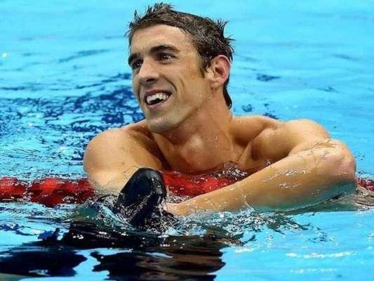 شہرہ آفاق امریکی پیراک مائیکل فیلپس نے اولمپک میں 22 واں طلائی تمغہ ..