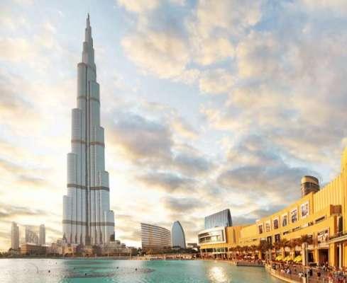 متحدہ عرب امارات میں گرمی کی شدید لہر، برج خلیفہ پر درجہ حرارت 49.5 ریکارڈ ..