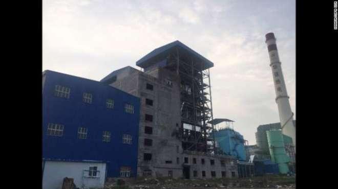 چین ' سٹیم پائپ لائن پھٹنے سے 21افراد ہلاک اور 5زخمی