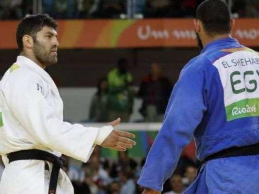 ریواولمپکس،شکست خوردہ مصری کھلاڑی کا اسرائیلی حریف سے مصافحہ سے انکار