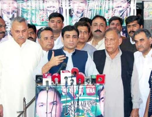 عوام نے عمران خان کی احتساب ریلیوں کو مسترد کردیا ہے۔حمزہ شہبازشریف