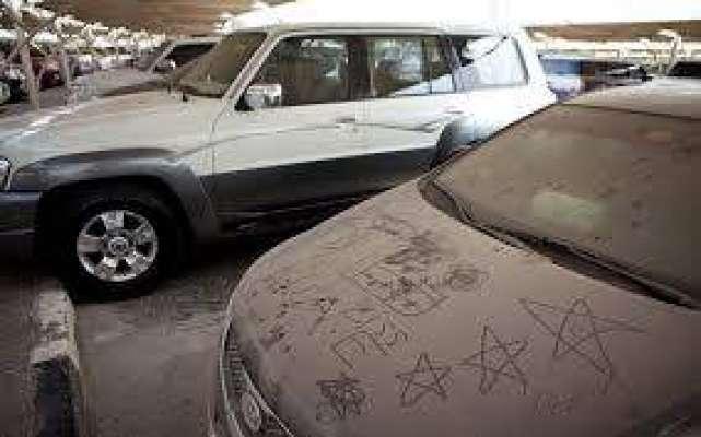ابو ظہبی: میو نسیپیلٹی نے 43متروکہ گاڑیوں کو ضبط کر لیا