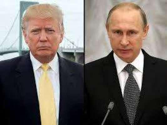 ڈونلڈ ٹرمپ کی روس کے صدر ولادی میر پیوٹن سے ٹیلی فون پر بات چیت