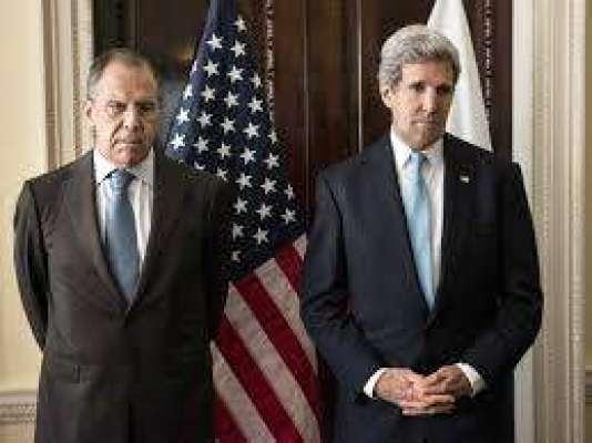 روسی اور امریکی وزراء خارجہ کے درمیان ٹیلیفون پر رابطہ ، شام کے معاملے ..