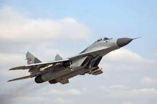 روسی لڑاکا طیارہ مگ۔ 29 بحیرہ روم میں گر کر تباہ،پائلٹ کو بچا لیا گیا