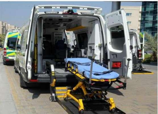دوحہ ۔حمد میڈیکل کارپوریشن نے جدید ٹیکنالوجی کی ایمبولینس آغاز کر ..