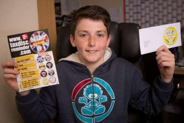 کاروباری ذہن رکھنے والا 14 سالہ طالب علم ایک ڈیل کے بعد ہی 20 لاکھ پاؤنڈ ..