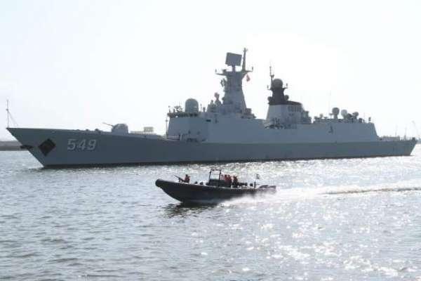 چینی بحری بیڑاپاک چین مشترکہ فوجی مشقوں میں حصہ لینے کیلئے کراچی پہنچ ..