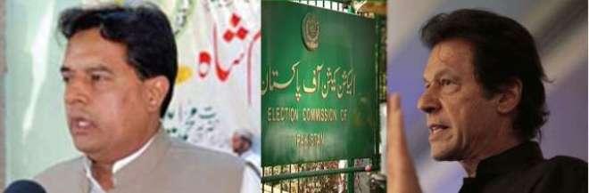 الیکشن کمیشن نااہلی ریفرنسز : عمران خان اور کیپٹن صفدر کو 22نومبر تک ..