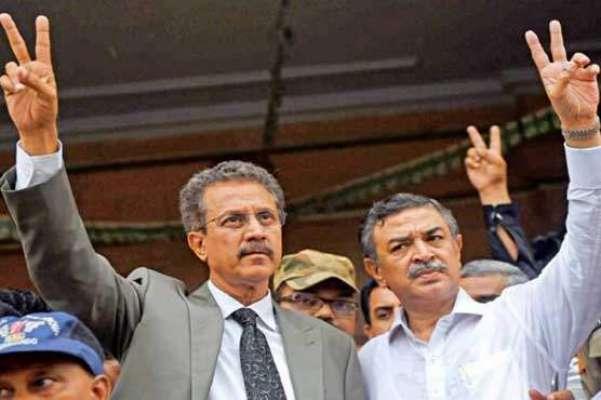 مئیر کراچی وسیم اختر کی آخری مقدمے میں بھی ضمانت منظور ، چہرہ کھل اُٹھا
