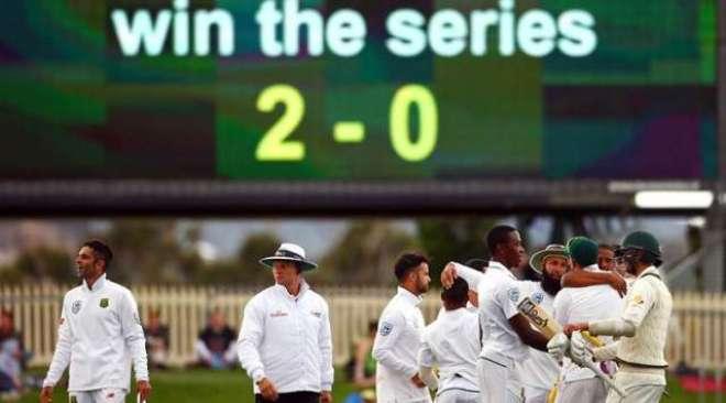 جنوبی افریقہ، آسٹریلوی سرزمین پر مسلسل تین ٹیسٹ سیریز جیتنے والی ..