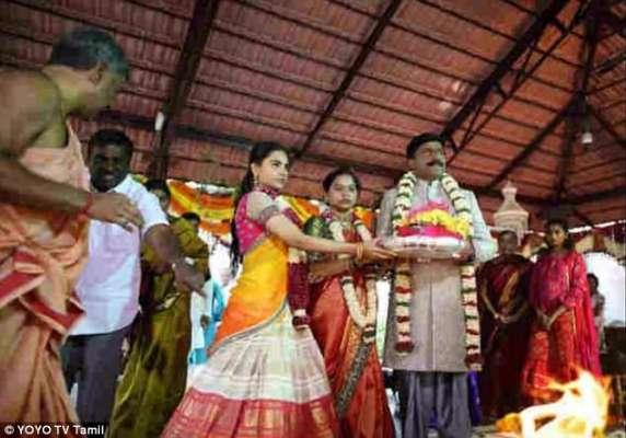 بھارتی سیاستدان نے اپنی بیٹی کی شادی پر 59 ملین پاونڈ خرچ کر دئے