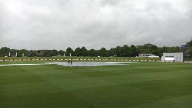 پاکستان نیوزی لینڈ پہلے ٹیسٹ میچ کے پہلے روز کا کھیل بارش کی نظر ہونے ..