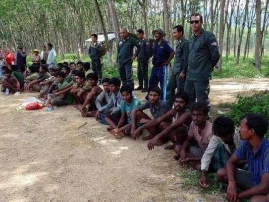 میانمر میں سرحد کے قریب آپریشن ، سینکڑوں روہنگیا مسلمان علاقہ سے فرار ..