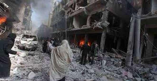 شام میں اتحادی طیاروں کی وحشیانہ بمباری، بچوں سمیت 87 افراد جاں بحق،درجنوں ..
