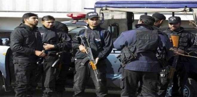 انسداد دہشت گردی فورس کا لاہور میں داعش کے8مبینہ ارکان گرفتارکرنے کا ..