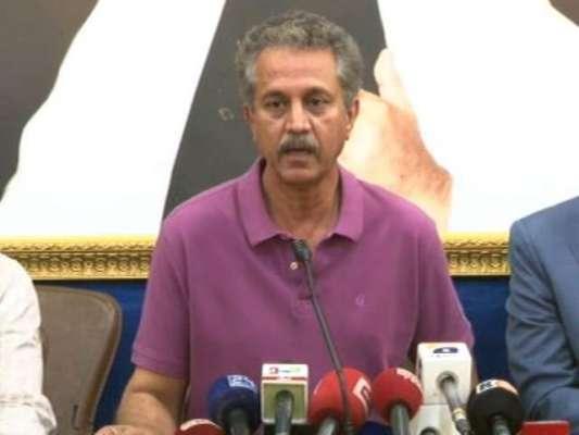 میئر کراچی وسیم اختر نے اپنے عہدے کا چارج سنبھال لیا