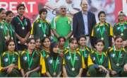 پاکستان کی وویمن ٹیم ملکی تاریخ میں پہلی بار رگبی کے انٹرنیشنل ٹورنامنٹ ..