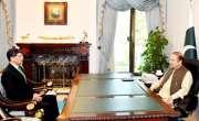 وزیراعظم نوازشریف سے ڈی جی آئی ایس آئی لیفٹیننٹ جنرل نویدمختارکی ملاقات