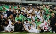 ایران نے فٹبال ورلڈ کپ 2018 کیلئے کوالیفائی کر لیا