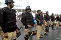 پنجاب حکومت کا فساد روکنے والی فورس کیلئے مرچوں والا سپرے فراہم کرنے ..