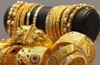 حیدرآباد صرافہ بازار میں پیر کو سونے کی قیمتیں