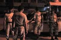 کراچی، اورنگی کے قبرستان سے بھاری مقدار میں اسلحہ بر آمد