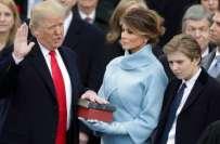 ڈونلڈ ٹرمپ نے 45ویں امریکی صدر کی حیثیت سے حلف اٹھا لیا
