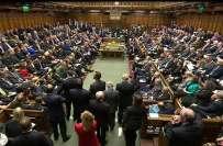 برطانوی پارلیمنٹ میں یورپی یونین سے علیحدگی کا بل منظور-حمایت میں 494، ..