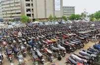 کراچی میں موٹر سائیکل چوری کی انوکھی واردات
