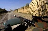 خیبرایجنسی کے علاقے وسطی کرم میں سیکیورٹی فورسزاور دہشت گردوں کے درمیان ..