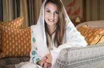ریحام خان اپنی سالگرہ (کل) بنی گالہ میں منائیں گی