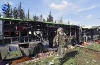 شام کے شہر حلب میں خودکش دھماکہ، بچوں اور خواتین سمیت 100افراد ہلاک، ..