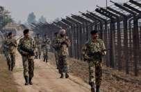 پاک فوج کے شیر جوانوں کا خوف، سرحد پر ڈیوٹی کیلئے منتخب ہونے والی16 بھارتی ..