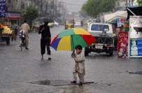 بالائی اور جنوبی پنجاب میں اگلے 24 گھنٹوں کے دوران بارش کا امکان