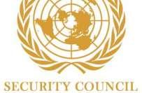 اقوام متحدہ کی سلامتی کونسل کے اجلاس میں پاکستان اور امریکا کے مندوبین ..