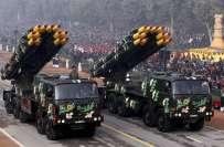 بھارتی فوج کے پاس گولہ بارود کا سٹاک شدید کم