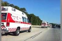 مکہ المکرمہ میں ٹریفک حادثے میں 2 افراد جاں بحق ، 26 زخمی