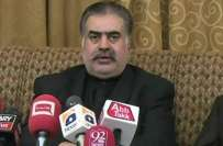 وزیر اعلیٰ بلوچستان کی سید غفورشاہ کے اچانک انتقال  پر دلی رنج و غم ..