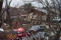 امریکی ریاست ٹیکساس میں طوفانی بگولوں نے تبائی مچادی ،5افراد ہلاک